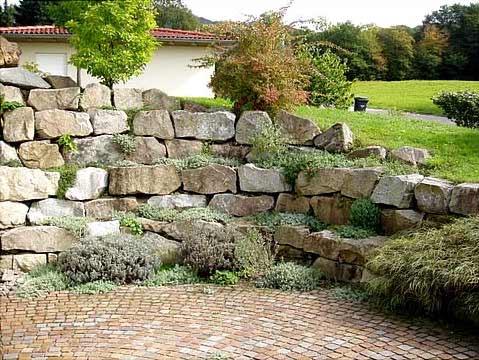 Joachim flubacher - Gartengestaltung mit sandstein ...